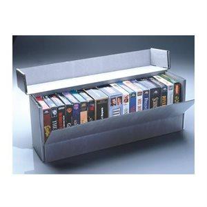 Boîte de rangement à rabat frontal VHS