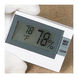 Mini compteur d'humidité et de température numérique