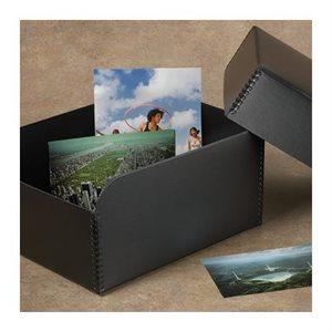 Boîte de rangement photo