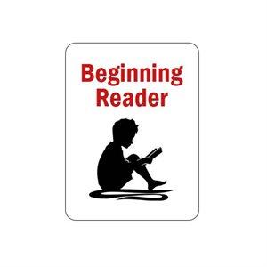 Étiquettes des symboles de classification du lecteur débutant de Brodart (250)