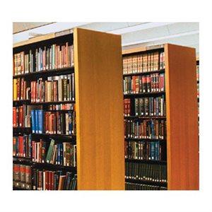 Panneau de chêne pour étagère 42 H x 12 P