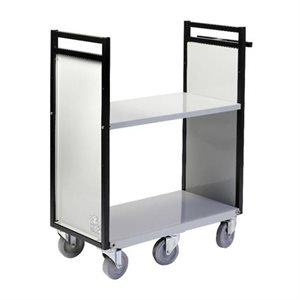 """CHARIOT 6 ROUES 2 PLATS 32"""""""