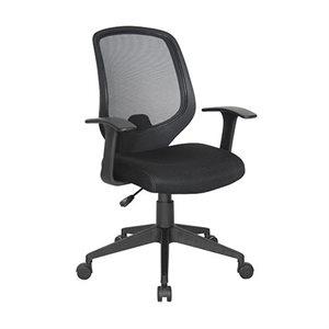 Chaise de travail E1000 Noir