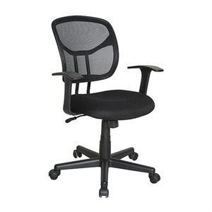 Chaise de travail E1001 Noir