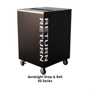 Chariots de retour intérieur Kingsley DuraLight™ 50 / 60 Series Drop & Roll
