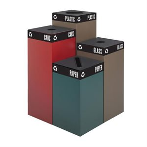 Collecteurs de recyclage Public Square® de Safco Products
