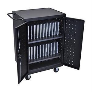 Cabinet de charge, transport et rangement 24 tablettes