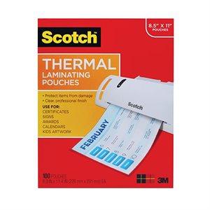 """Pochette pour scelleur thermique 8.9"""" X 11.4"""" 100 / pqt"""
