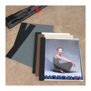 Couverture simple couture 12 x 9, Perle / Noir