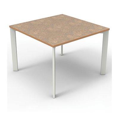 Brodart Array Top Tables stratifiées avec plaquage de bois