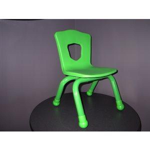 Chaise pour enfant 11 1 / 2 po H Verte