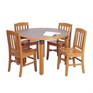 Brodart Tiburon Tables de lecture en chêne